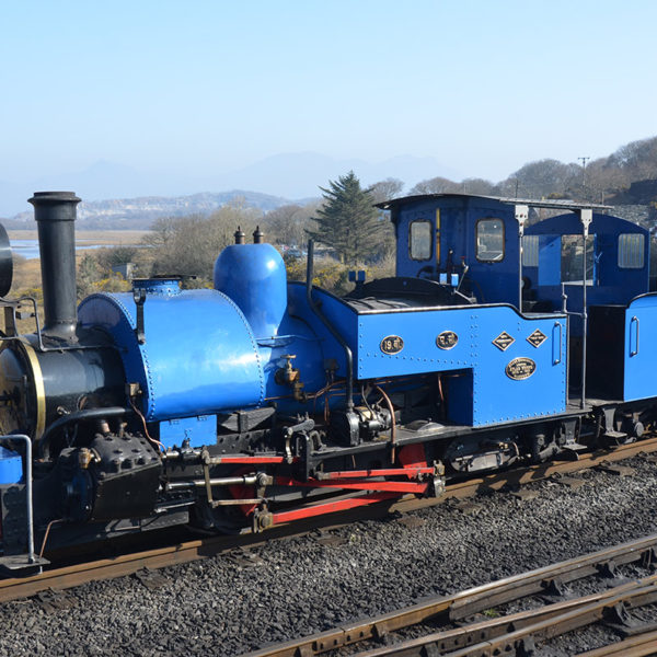 Darjeeling Train at the Ffestiniog & Welsh Highland Railways