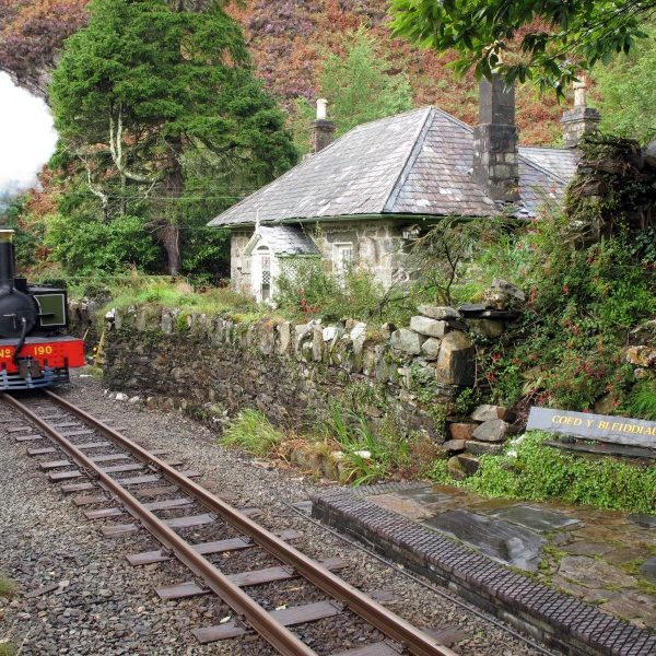 Restoration of Coed y Bleiddiau on the Ffestiniog Steam Railway
