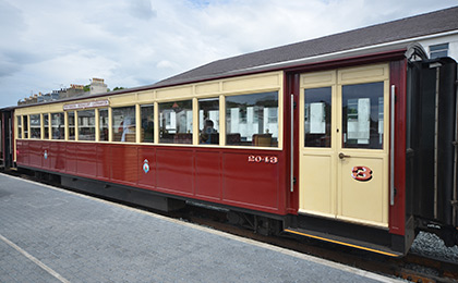 WHR third class carriage