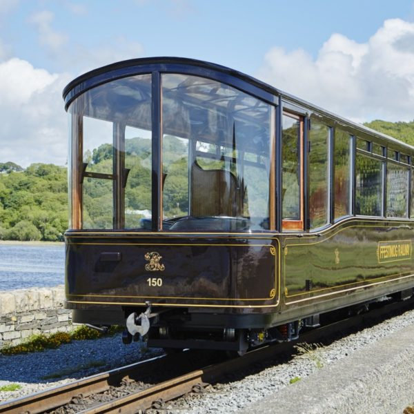 New Art Deco Steam Train Carriages
