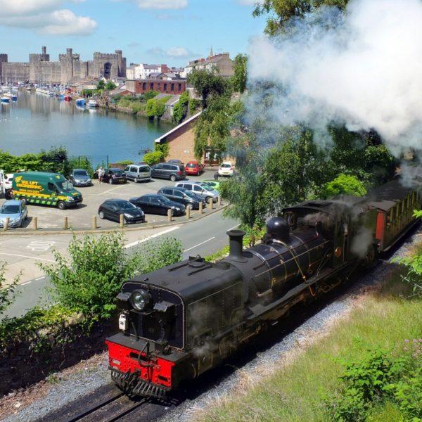 Start Your Steam Train Journey from Caernarfon