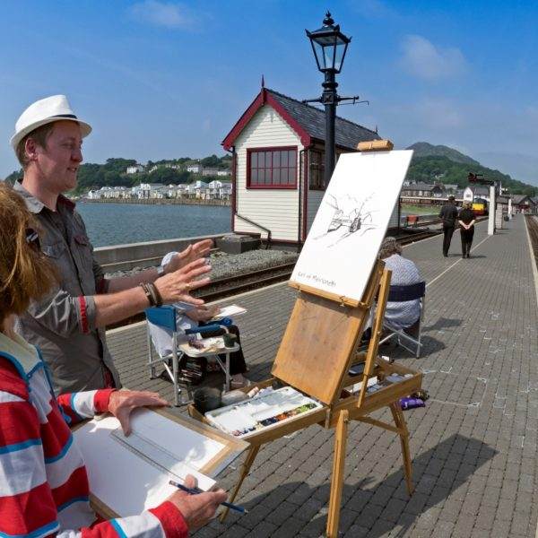 Stunning Places to Paint in North Wales